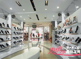 鞋店装修效果图 鞋店装修图 小型鞋店装修效