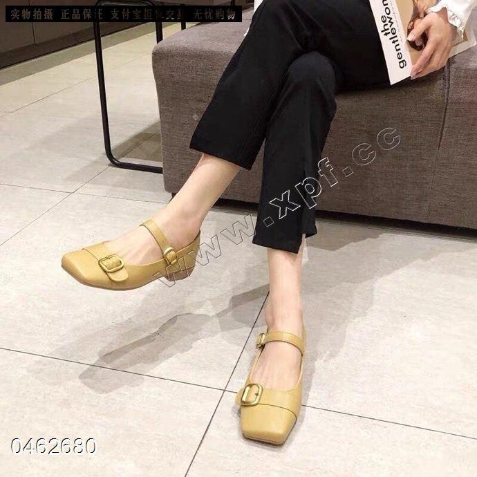 时尚单鞋126一2