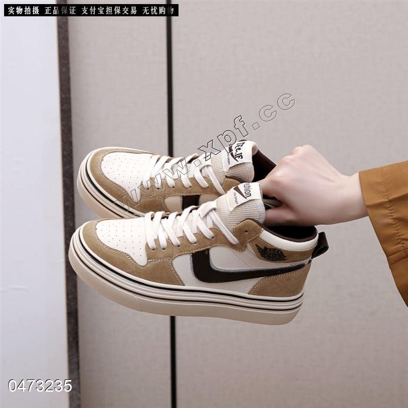 新款高帮休闲鞋 阳光丽莎D2855-1
