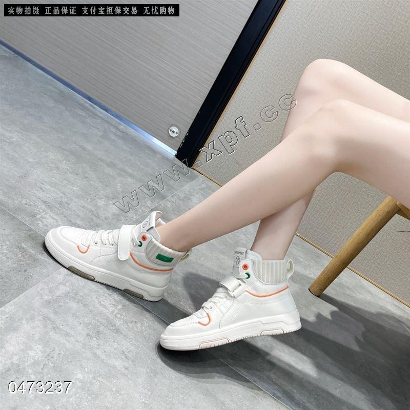 新款高帮休闲鞋 阳光丽莎2923