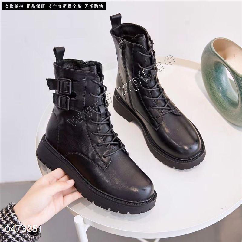 地素新款单里时尚短靴1806