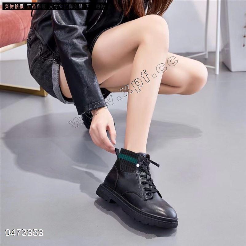 角色青春新款内里超柔时尚短靴1908