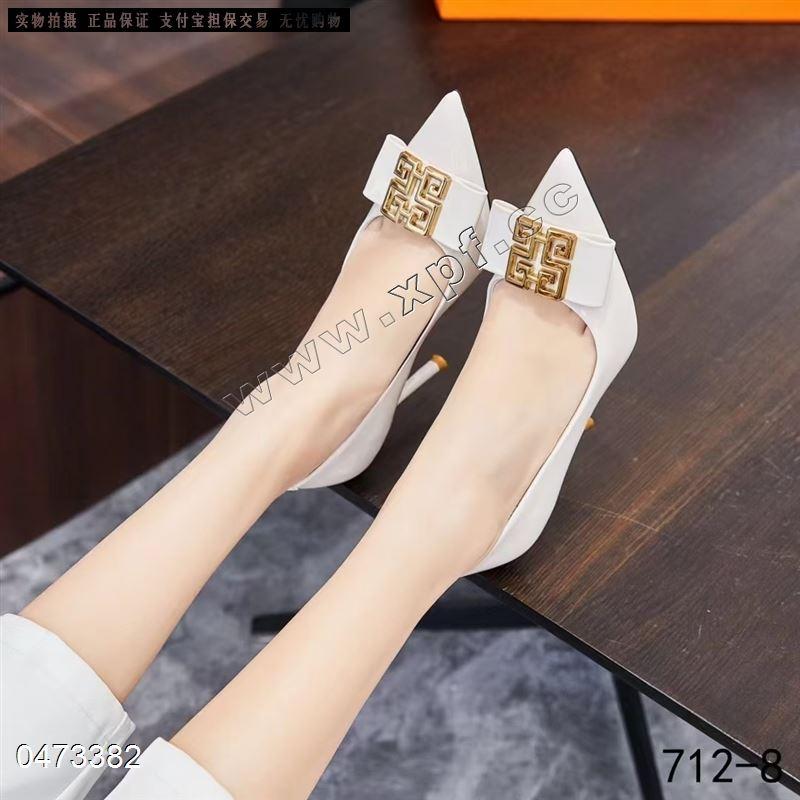 古典兰新款时尚单鞋712-8(千金鸟厂家)