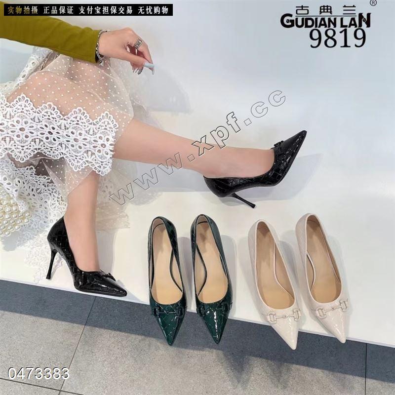 古典兰新款时尚单鞋