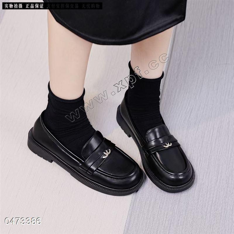 秋季新款真皮时尚单鞋