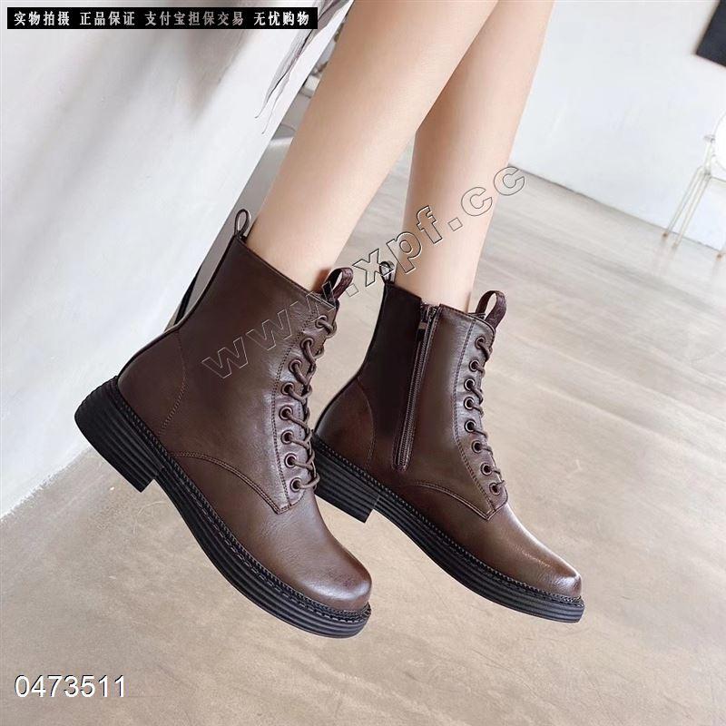 时尚短靴666-2   跟高3.5厘米 靴筒20厘米
